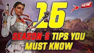 15 SEASON 5 TIPS TO HELP YOU IMPROVE (Apex Legends)