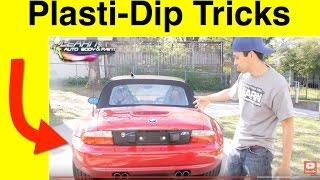 COOL! Using Plasti Dip To Customize Your Car