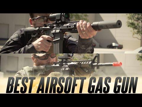 Best Airsoft Gas Gun: KWA LM4 VS. WE Open Bolt M4   Airsoftmegastore.com