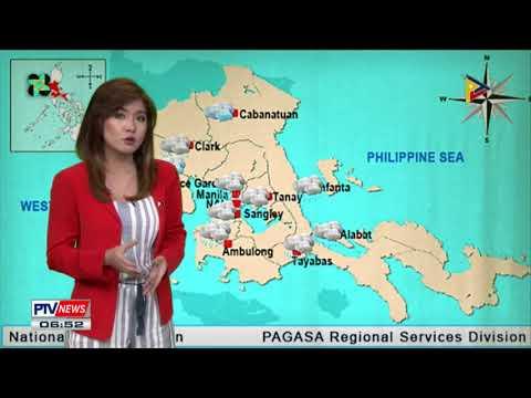 PTV INFO WEATHER: Low Pressure Area, nagpapaulan sa ilang bahagi ng bansa