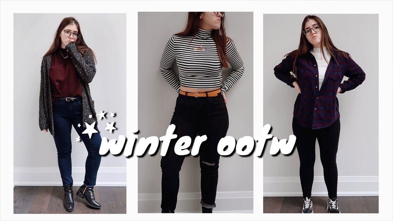 [VIDEO] - February OOTW 2019 | Everyday Outfit Ideas | Winter Outfits 3
