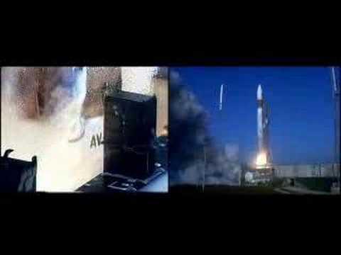 Atlas V Launches Mars Reconnaissance Orbiter (MRO)