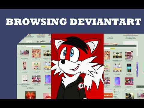 Browsing Deviantart: Sonic Hitler And More!