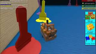 DEATH BY PAINT!?!?   Build A Boat For Treasure   Roblox