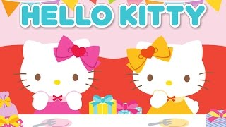 Hello Kitty Jigsaw Puzzles for Kids - App Gameplay Video