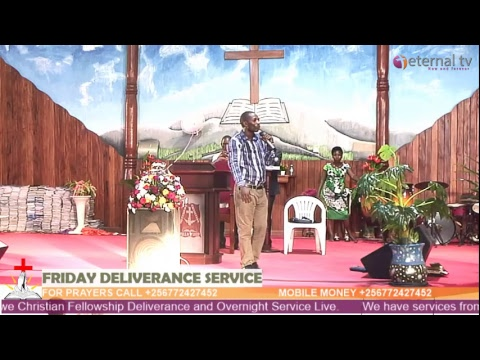 MCF Deliverance Service Live with Ps Akankwasa Jackson 22-Feb-2019