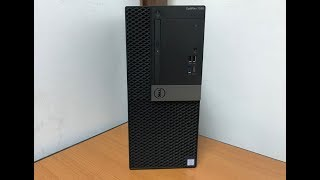 Dell OptiPlex 7050 Tower Computer Unboxing