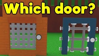 House Build Ep.9: Which Door? - ROBLOX Build a Boat