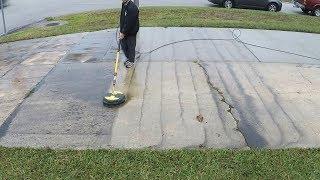 Pressure washing vlog #1 - My own driveway