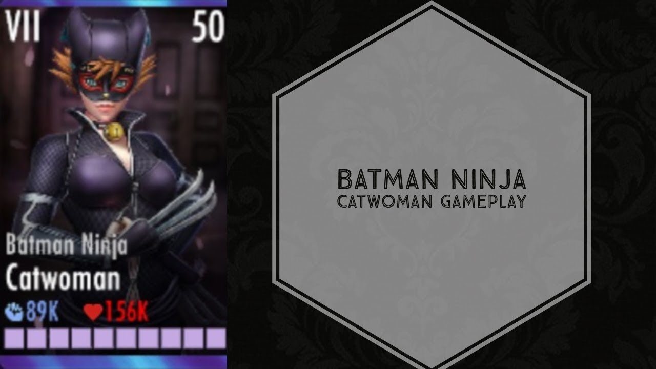 Injustice Gods Among Us Batman Ninja Catwoman Elite Vii Youtube