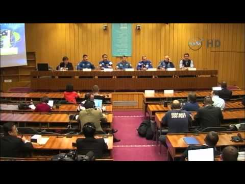 One Year Expedition Crew News Conference at UNESCO Headquarters in Paris France