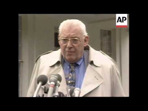 USA: REV IAN PAISLEY WARNS US NOT TO INTERFERE IN N. IRELAND AFFAIRS
