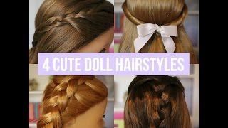 4 Cute Doll Hairstyles [2]