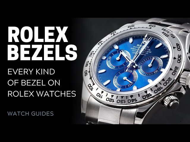 Rolex Bezels: Every Kind of Bezel on Rolex Watches | SwissWatchExpo [Rolex Watches]