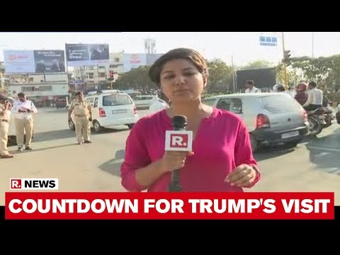 Ahmedabad Is Set For US President's Donald Trump's Visit To India