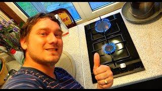 видео Подключение газовой плиты в квартире своими руками