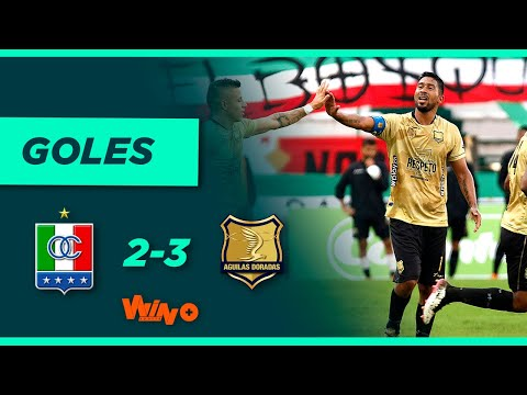 Once Caldas vs. Águilas Doradas (2-3)   Liga BetPlay Dimayor 2021-II Fecha 9