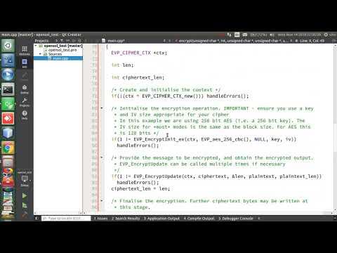 Openssl with C++ Qt quick start