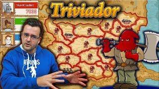 Triviador - Ох, добре, че са ЖОКЕРИТЕ! България е червена!