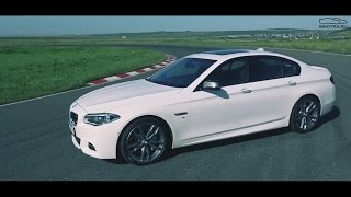 Test Drive By Davidich (With English Subs). Bmw M550d