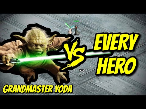 YODA vs EVERY HERO | Star Wars: Galactic Battlegrounds |