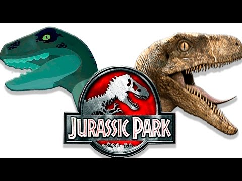 Dinosaurs LEGO cartoon vs movie [2] Jurassic Park | Lego vs Movie | semen Play