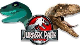 Динозавры Лего мультик против кино [2] Парк юрского периода | Lego vs Movie | Семен Плей