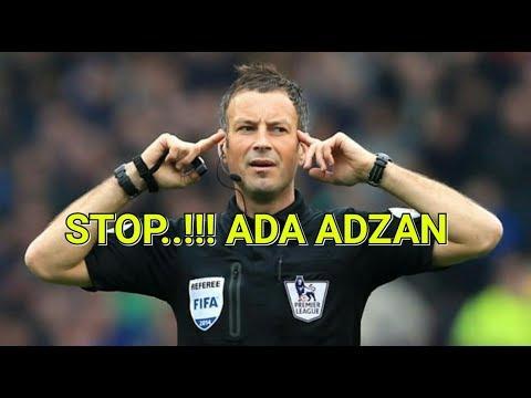 Wasit terbaik inggris ini hentikan pertandingan saat mendengar suara