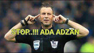 Wasit terbaik inggris ini hentikan pertandingan saat mendengar…