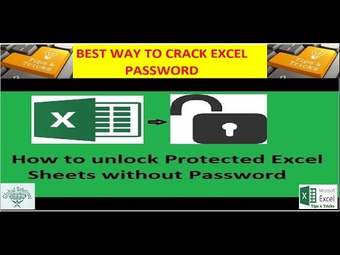 unprotect Excel sheet:how to unlock an spreadsheet||Tips and ...