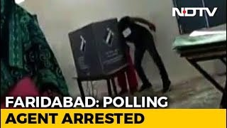 Poll Agent Arrested Over Video Of 'Booth Capture' In Haryana's Faridabad