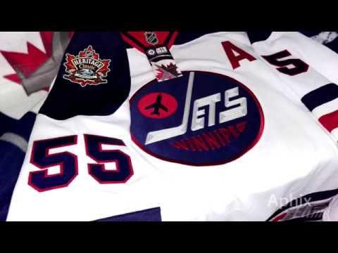b75d38e896d Winnipeg Jets Heritage Classic Jersey Unboxing - YouTube