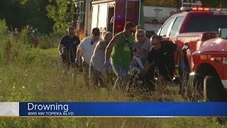 Shawnee Co. Sheriff: 52 year old man drowns in lake north of Topeka