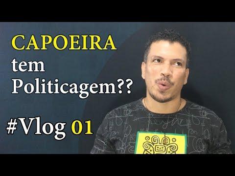 Existe POLITICAGEM na CAPOEIRA? / Vlog 01 - Curso de capoeira ONLINE & GRATUITO