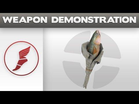 Weapon Demonstration: Holy Mackerel