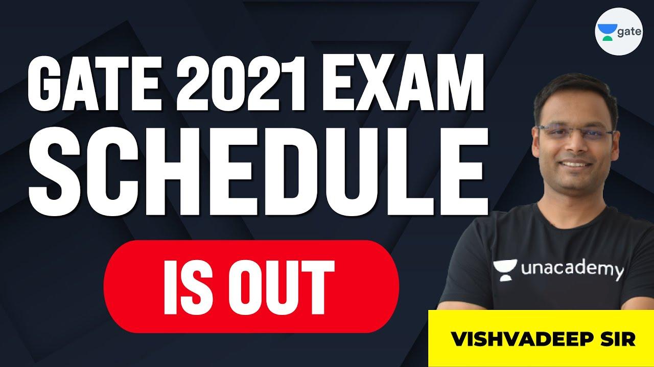 GATE-2021 Exam Schedule Out | Unacademy Computer Science | Vishvadeep Gothi Sir