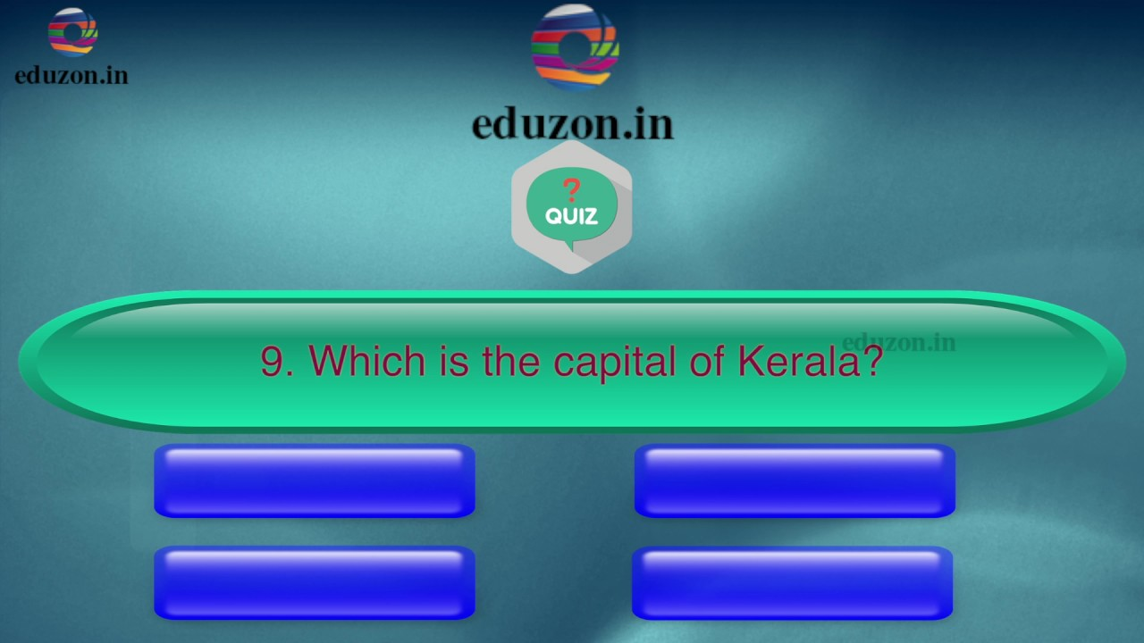 Social Studies- Quiz- 10th Class- India - YouTube