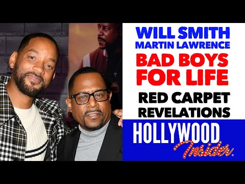 'bad-boys-for-life'---'red-carpet-revelations'-with-will-smith-&-martin-lawrence-during-premiere