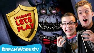 5 Nights At Freddy's 4 FREAKOUT with Fin & Sky | LEAGUE OF LET'S PLAY