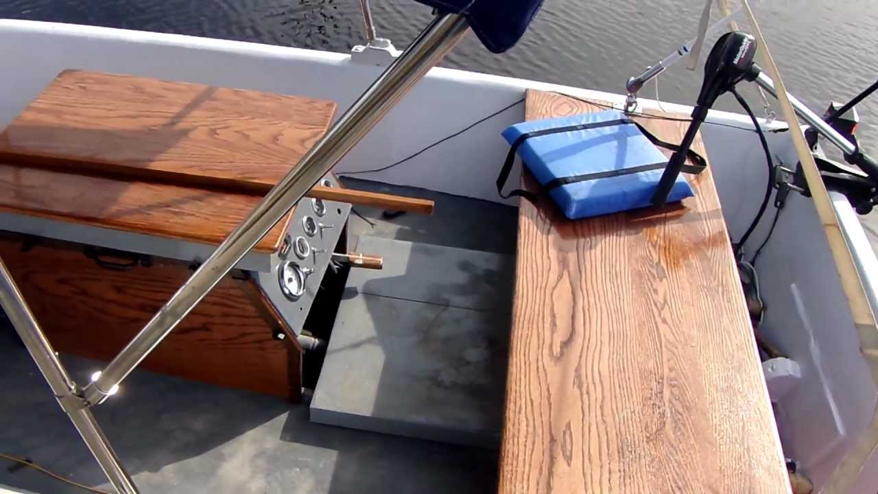 Installing an inboard motor in a small boat update 12 of 13