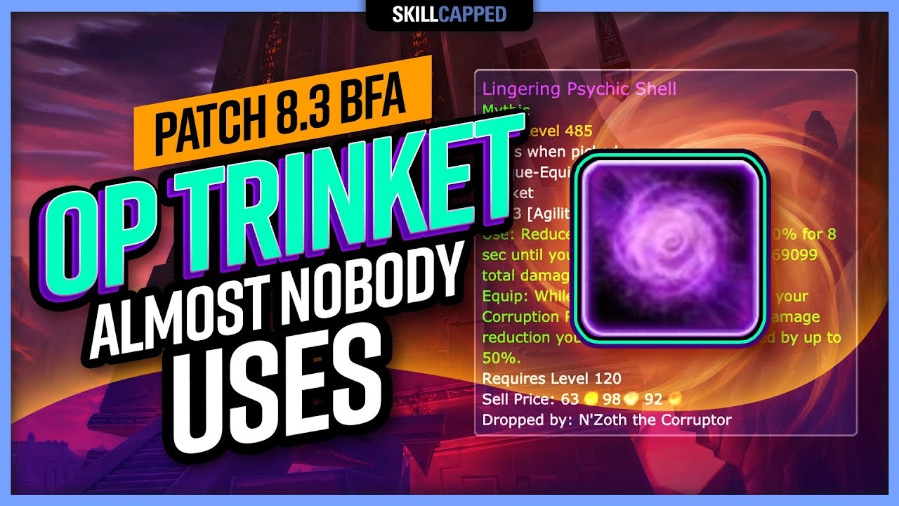 The Sleeper OP Trinket Almost NOBODY USES in World of Warcraft   BfA 8.3 WoW PvP Guide
