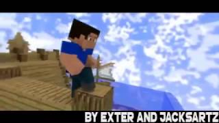 × MINECRAFT iNTRO TEMPLATE × By JackArtz and Exter ME C4D