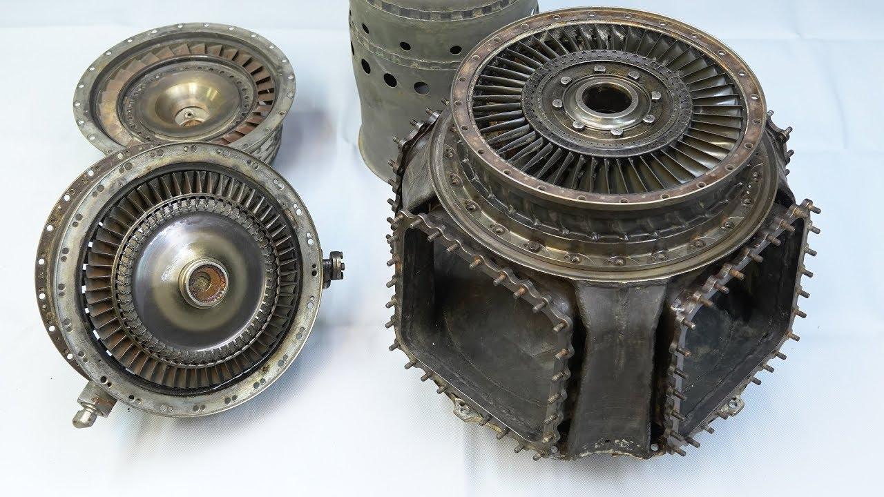GTD-350 двигатель высокоразвитой цивилизации — Галтовка разборка турбины