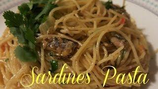 Sardines Pasta Recipe