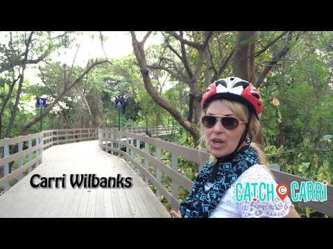 Biking to Santay Island in Guayaquil, Ecuador