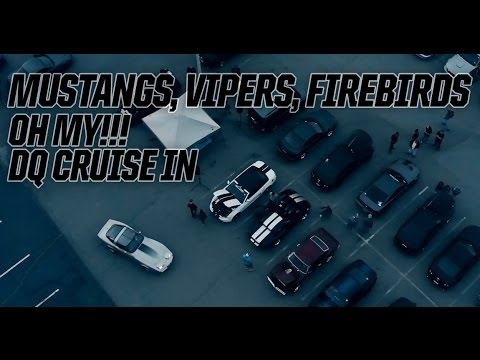 Mustangs, Vipers, Firebirds, OH MY!! DQ Cruise In Fredericksburg, Virginia