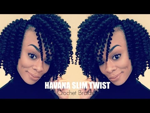 Protective Style | Havana Slim Twist Crochet Braids (Tutorial)