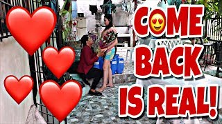 COME BACK IS REAL!!!