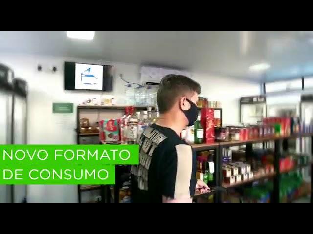 Solução VMpay - Loja Autônoma Mercado Quadrado