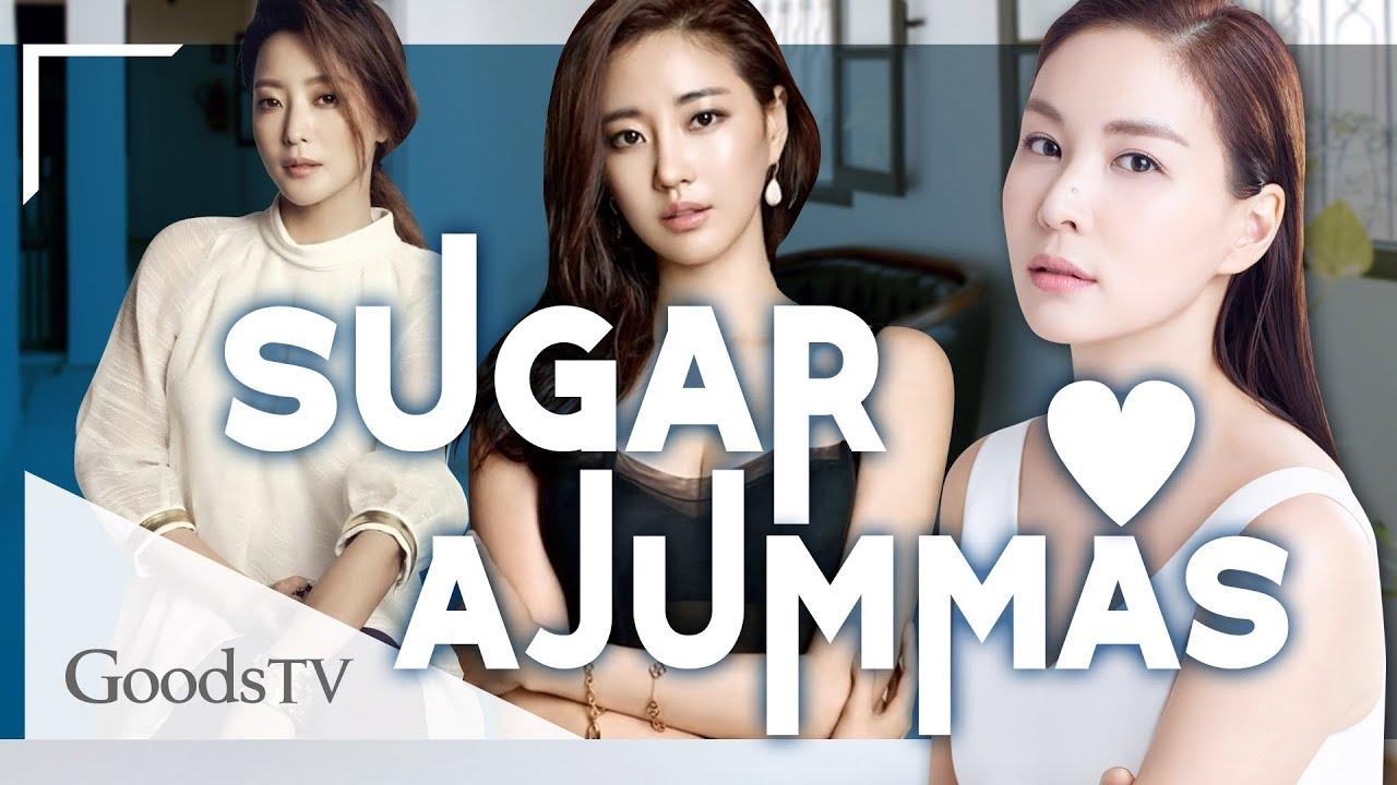 Actrices Coreanas ¡actrices coreanas que podrÍan ser sugar ajummas!